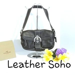 💯 Authentic Coach Leather Soho Bag K05S-9434